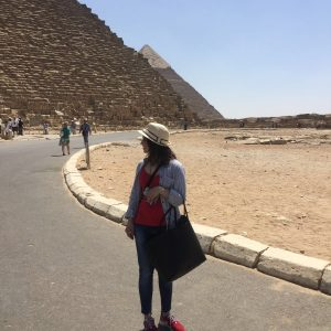 Anisha cairo pyramids