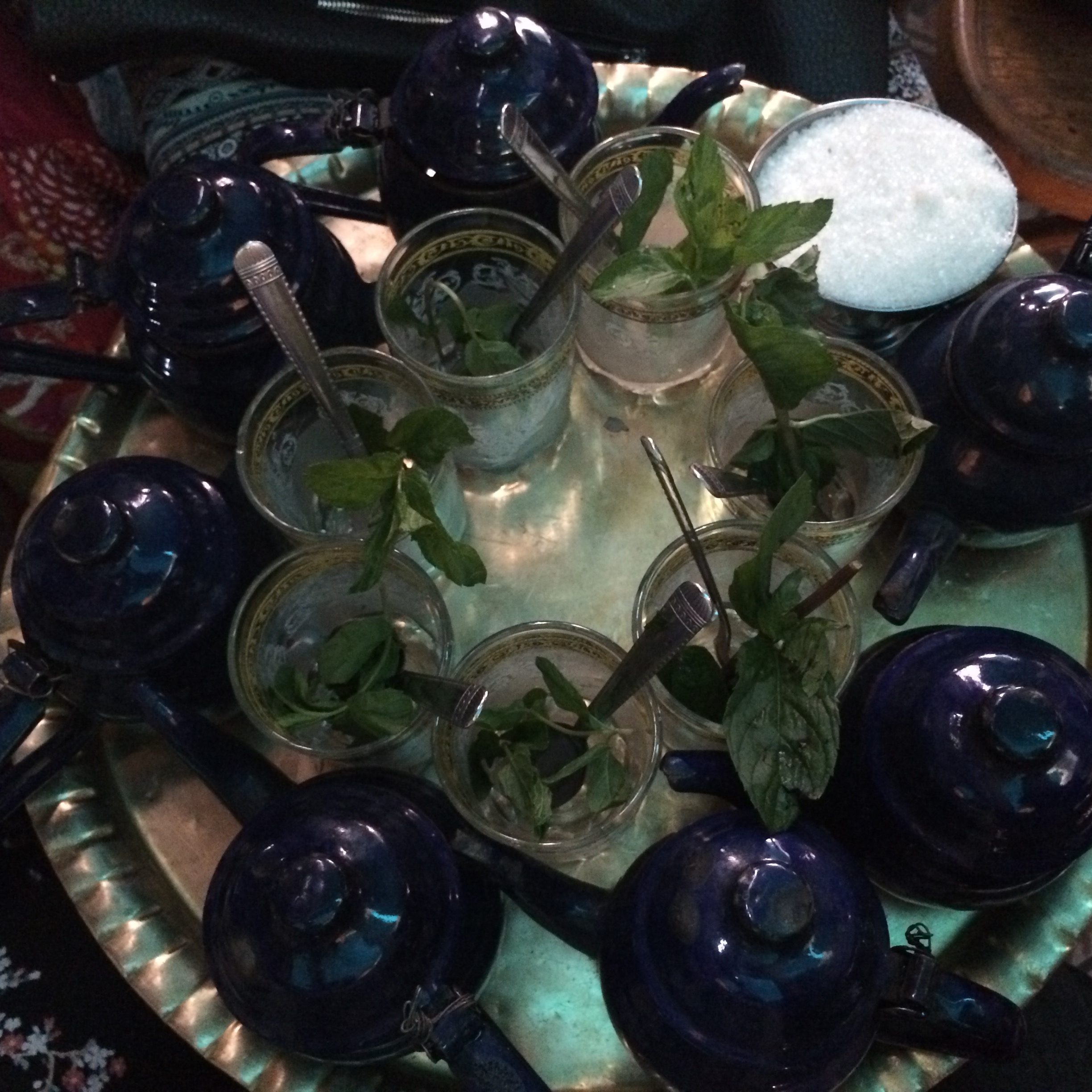 Mint tea cairo