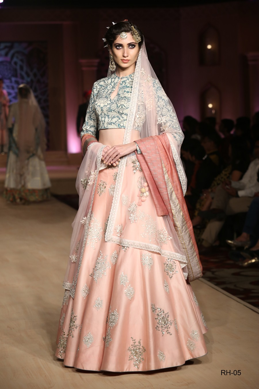 Beautiful summer lehenga by Anju modi