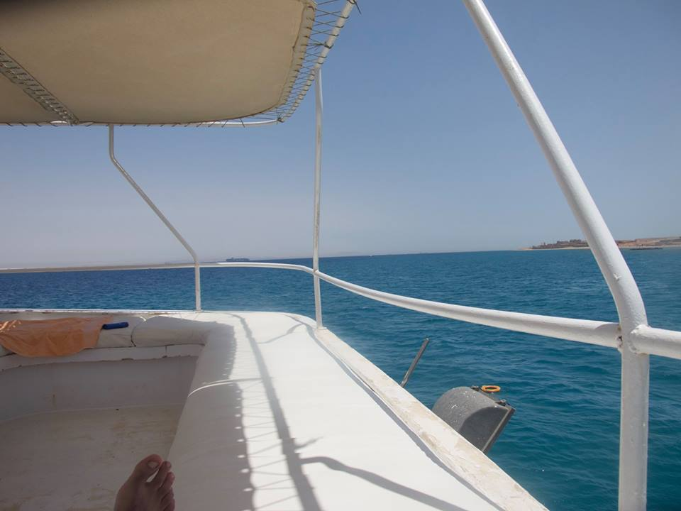 Boat to Red Sea