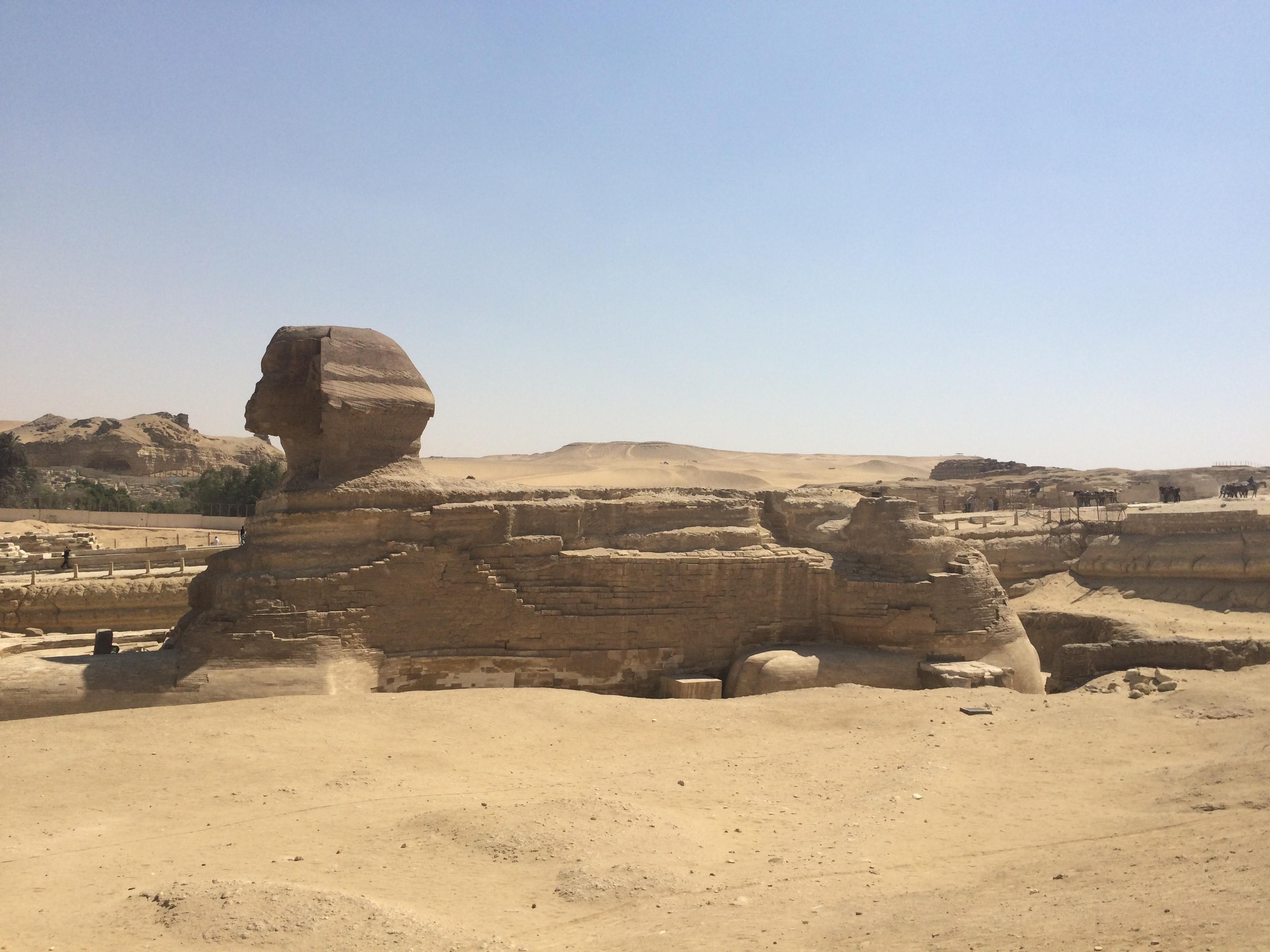Sphinx Giza Cairo Egypt