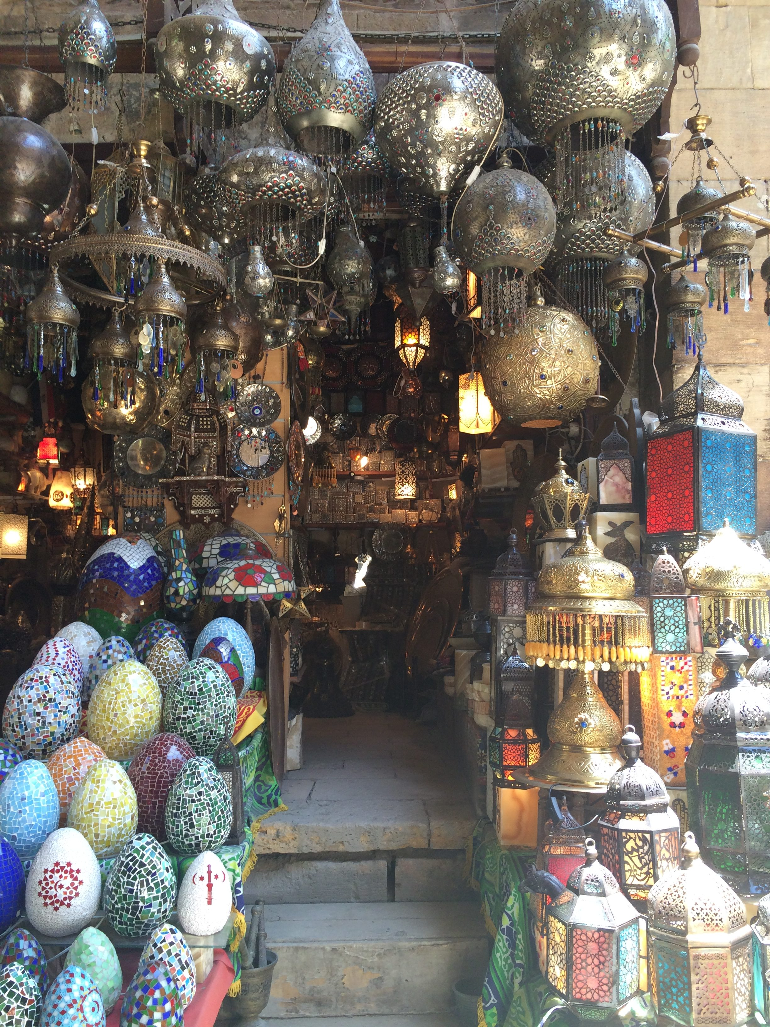 Old Cairo markets Egypt