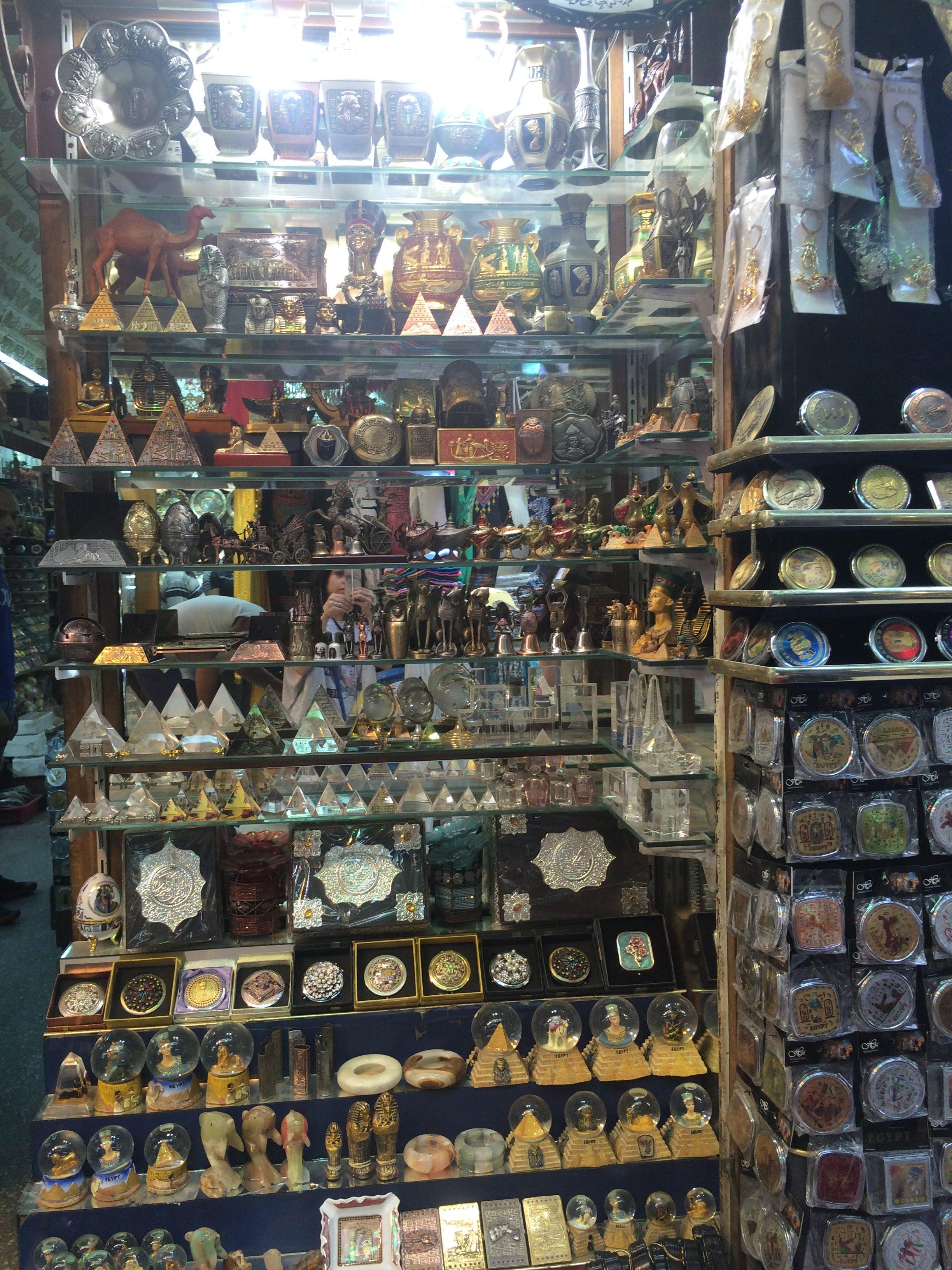 Old Cairo markets Egypt
