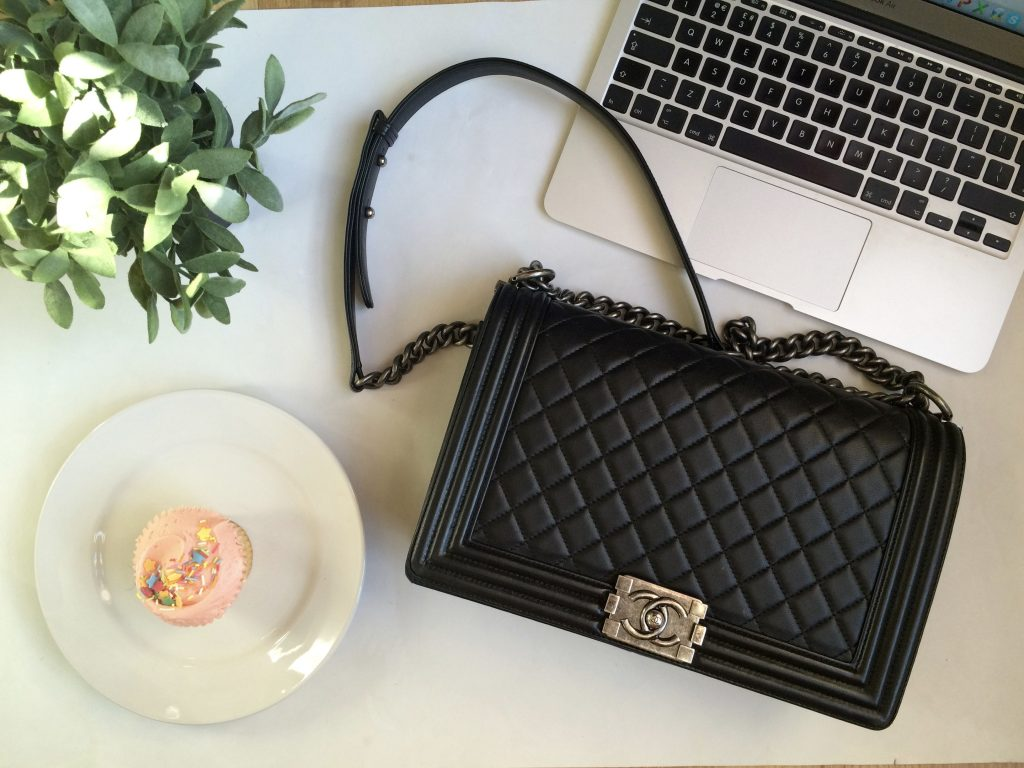Chanel boy bag Designer bag