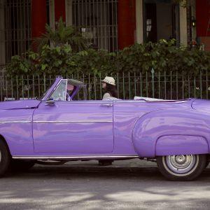 Classic vintage card in Havana