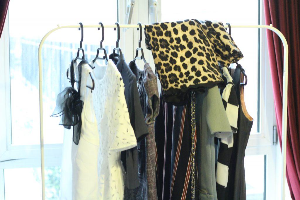 Clothing rack organisation