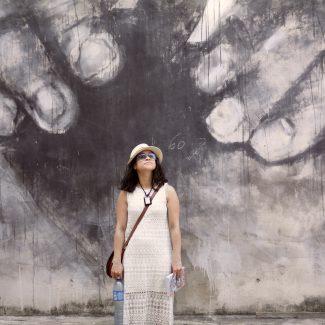 White Crochet Beach Dress In a City – A Cuban Winter