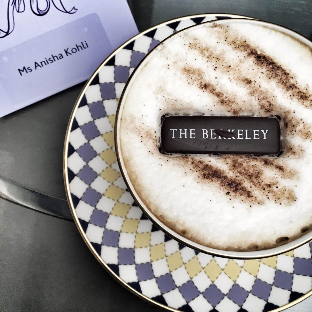 Afternoon tea post coffee