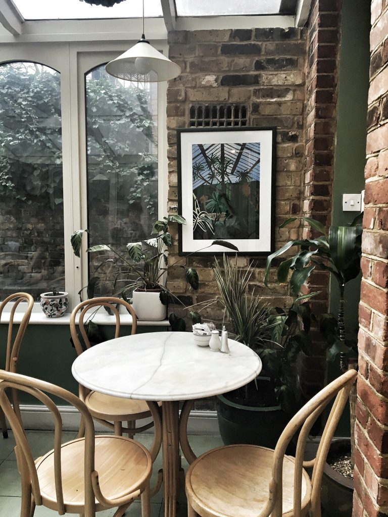 The Kew Gardens Greenhouse Instagram worthy restaurants