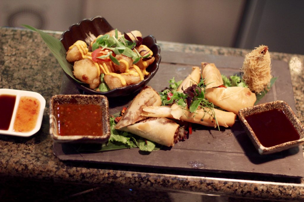 Fancy Thai Food In The Harrod's Food Hall: Mango Tree