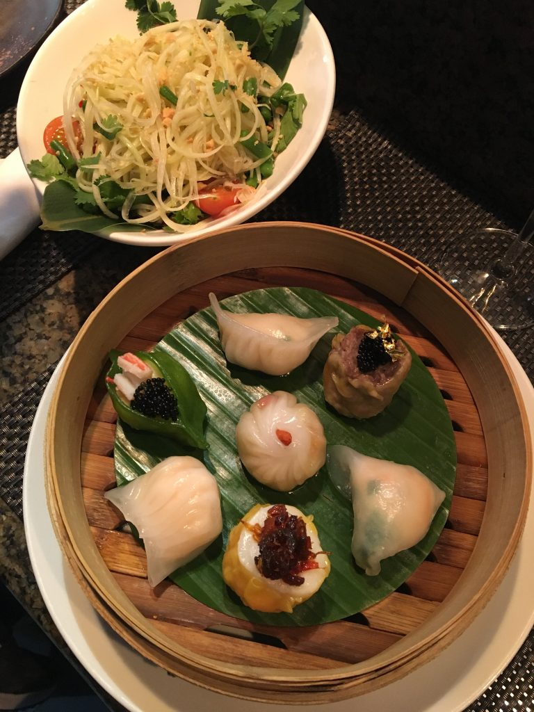 Mango Tree thai food Harrods