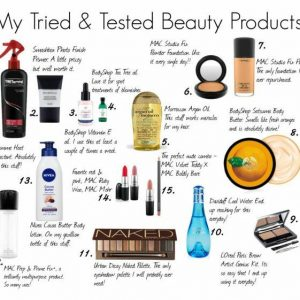 Holy Grail Beauty products - Fashion and Frappes