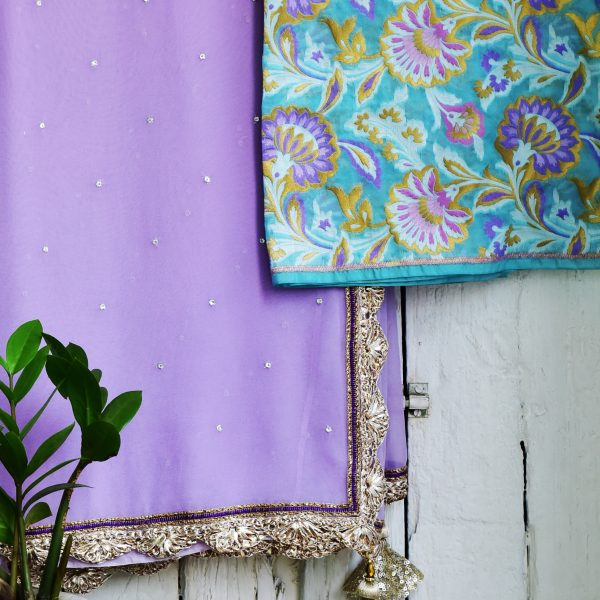 Lavender and mint - Zari by Fashion & Frappes