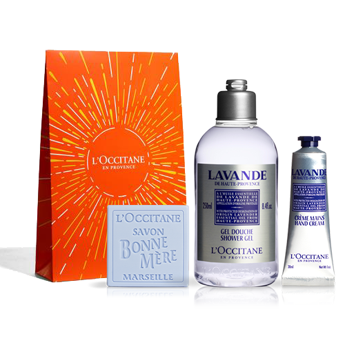 Loccitane gift set for Christmas