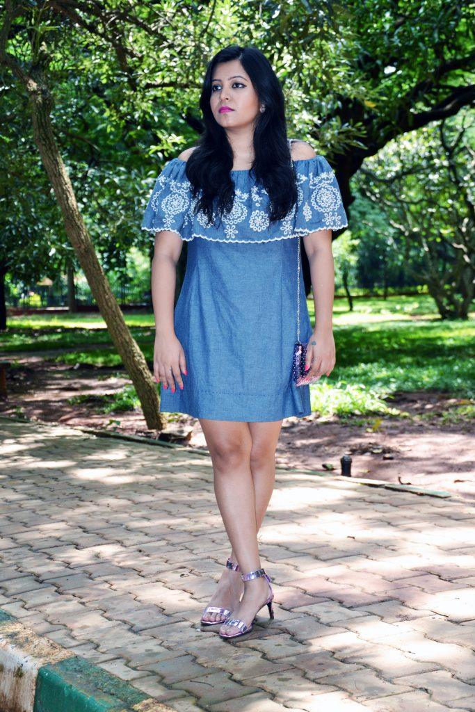 An Unusual Grey Dress : #OOTD