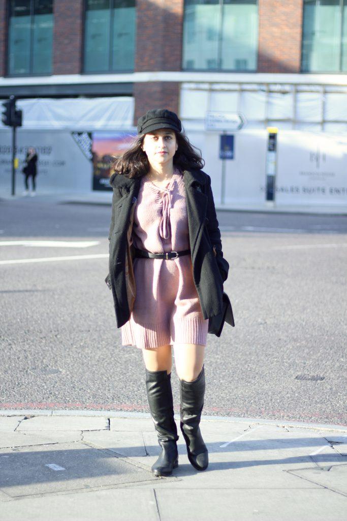 Sweater Dress tobi thigh boots