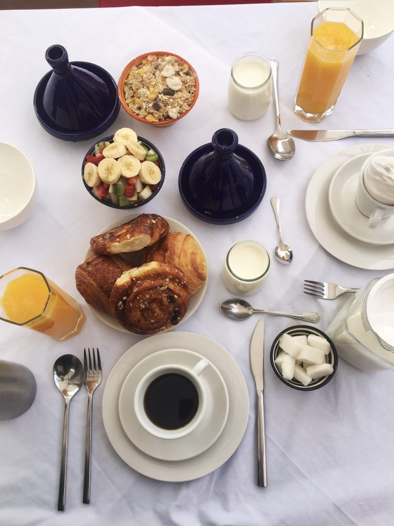 breakfast Riad Tizwa Riads of Morocco