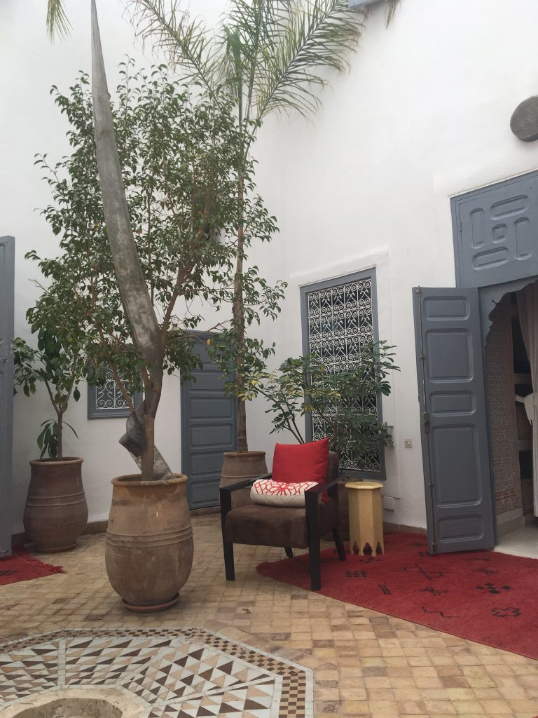 Riad Tizwa courtyard Marrakesh The riads of Morocco