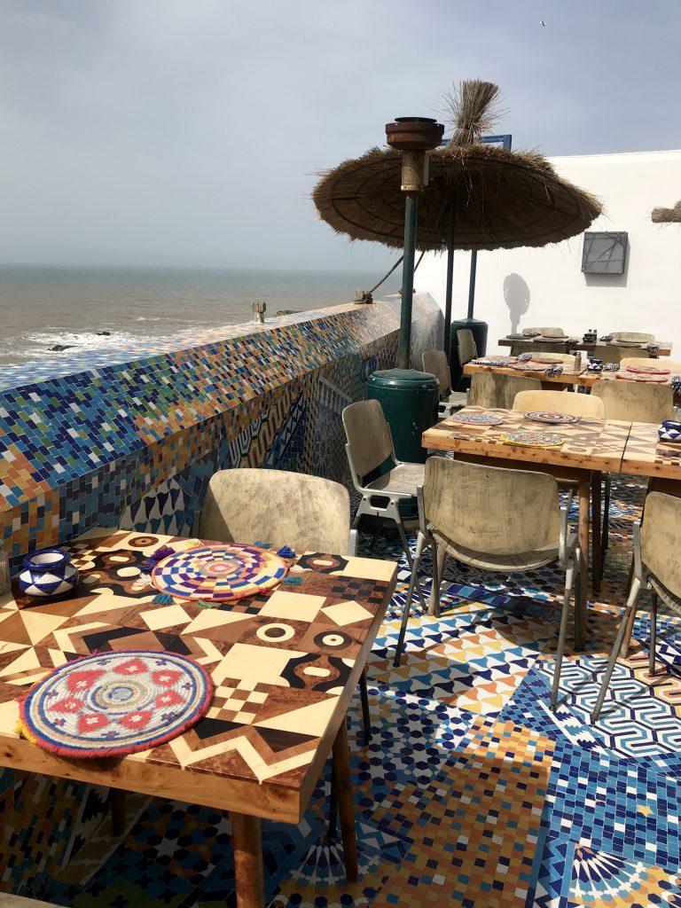 Salut Moroc rooftop Essaouira Morocco