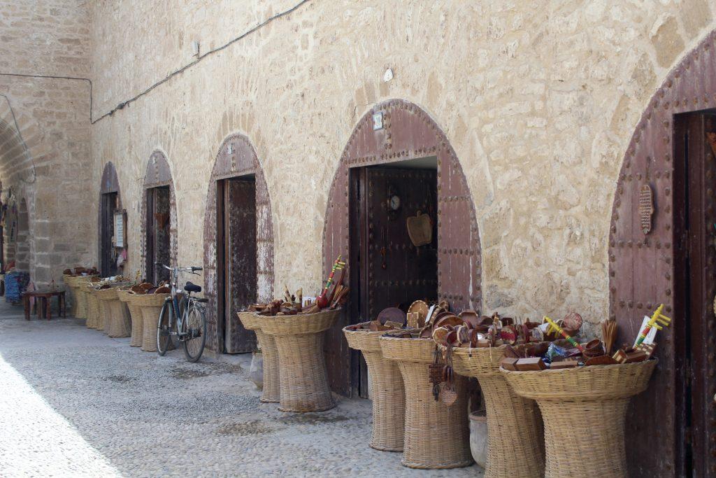 Souks in Essaouira