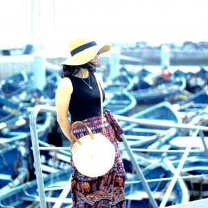 Port of Essaouira boho skirt