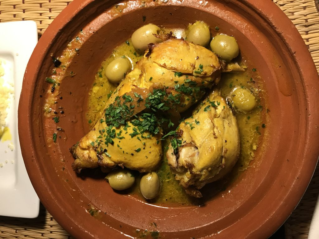chicken tagine Terrasse des epices Marrakesh