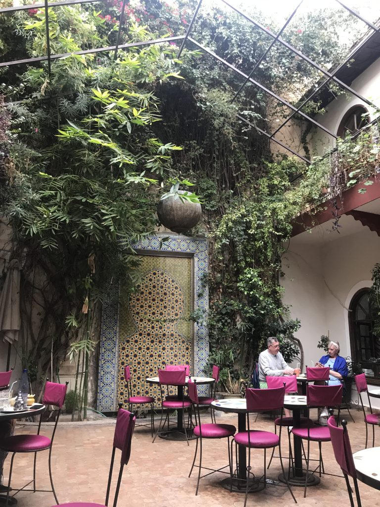 Bougainvillier Cafe, Marrakesh