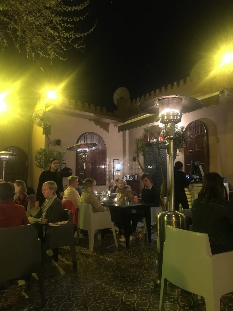 Latitude 31 Marrakesh restaurant