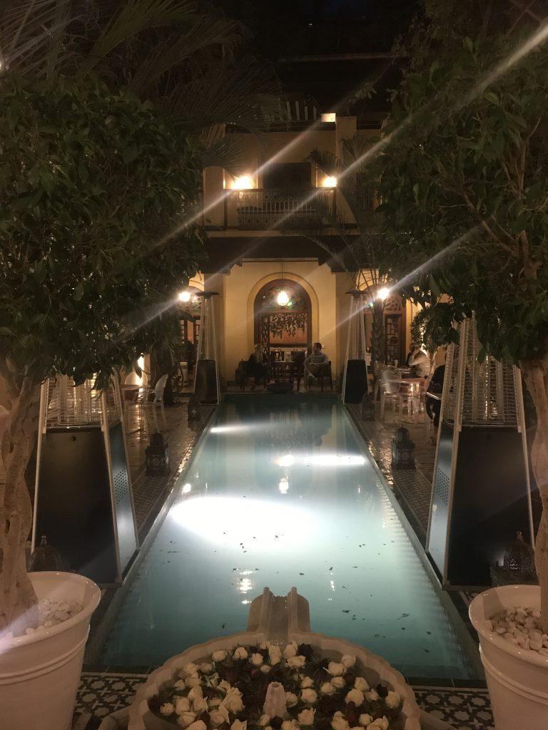 Papa Nero restaurant Marrakesh
