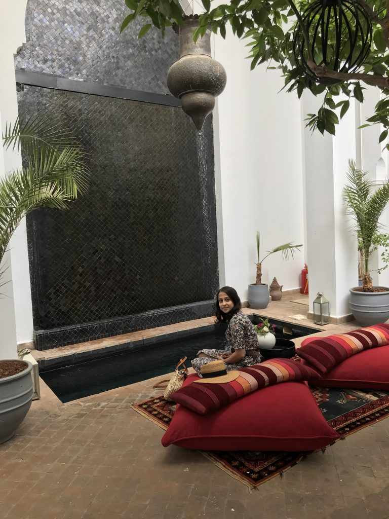 Riad 64 Marrakesh restaurants and hammam