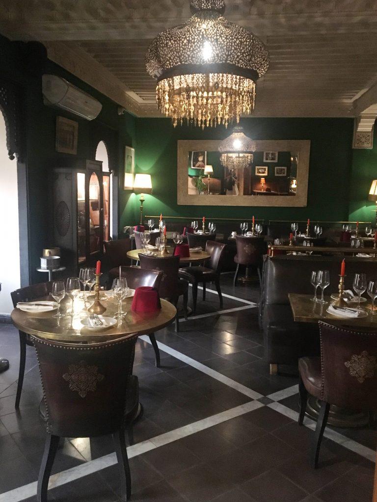 La Salama restaurant Marrakesh