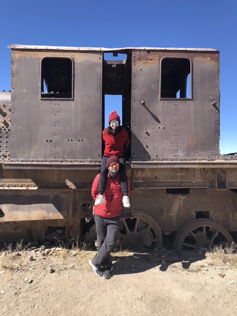 Train Cemetery, Salar de Uyuni, Bolivia