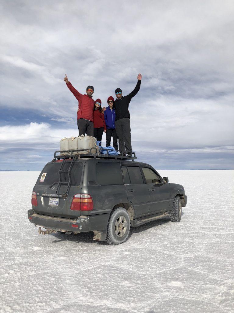 jeep Salar de Uyuni Bolivia