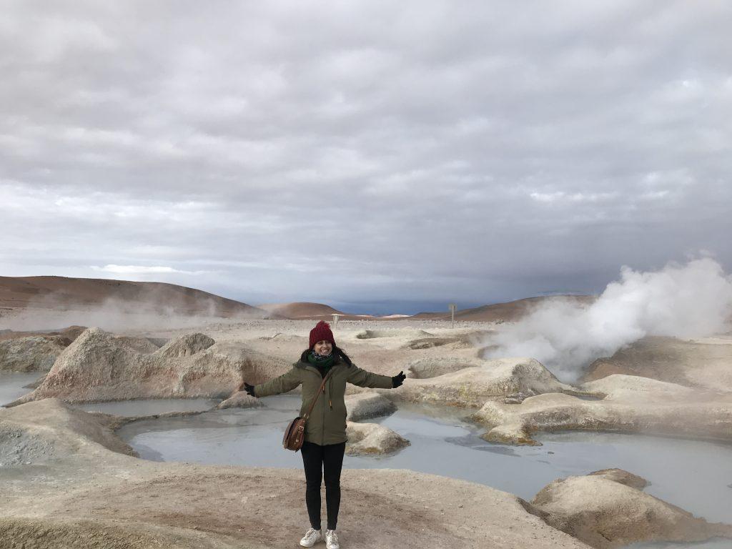 Geyser, Salar de Uyuni, Bolivia