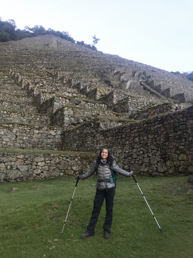Berghaus supalite fashion girl's guide to Machu Picchu