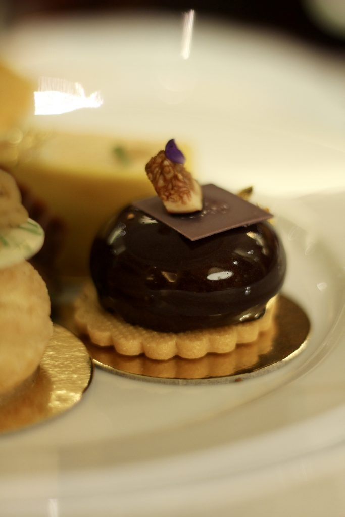 Pastries afternoon tea at The Dorchester Promenade London