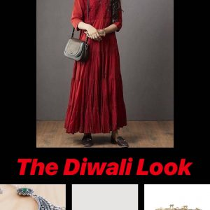 The Diwali look festive season outfit