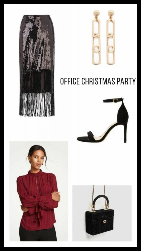 Christmas party look festive season