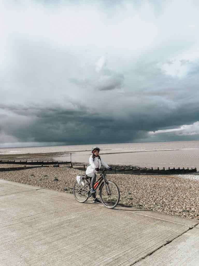 Herne bay cycling day trip London