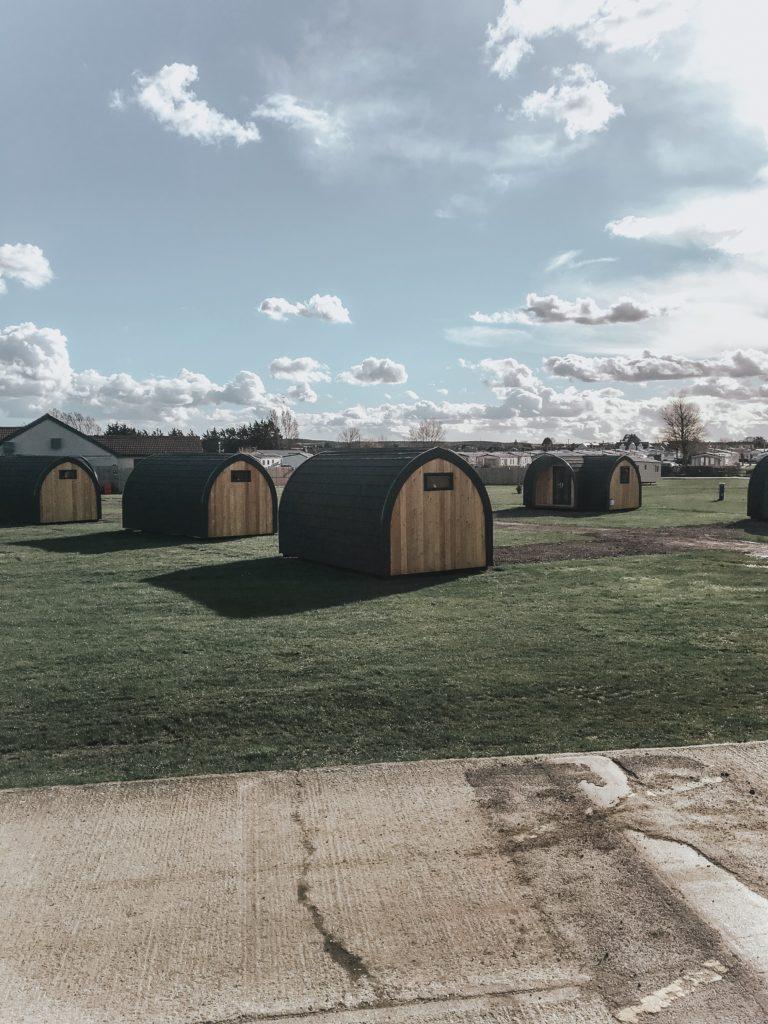 Whitstable beach shacks