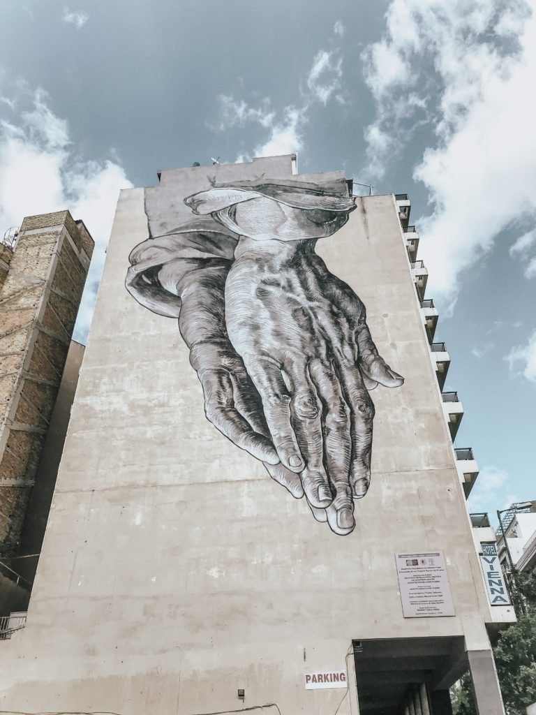 Athens Greece street art tour