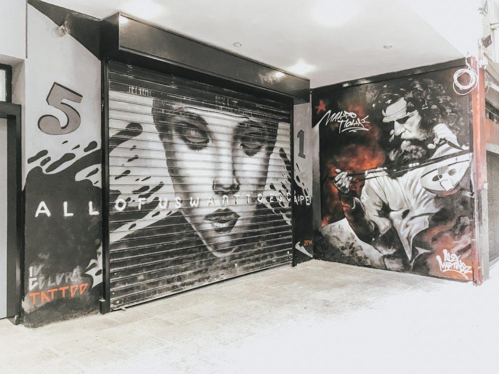 Athens street art tour Greece