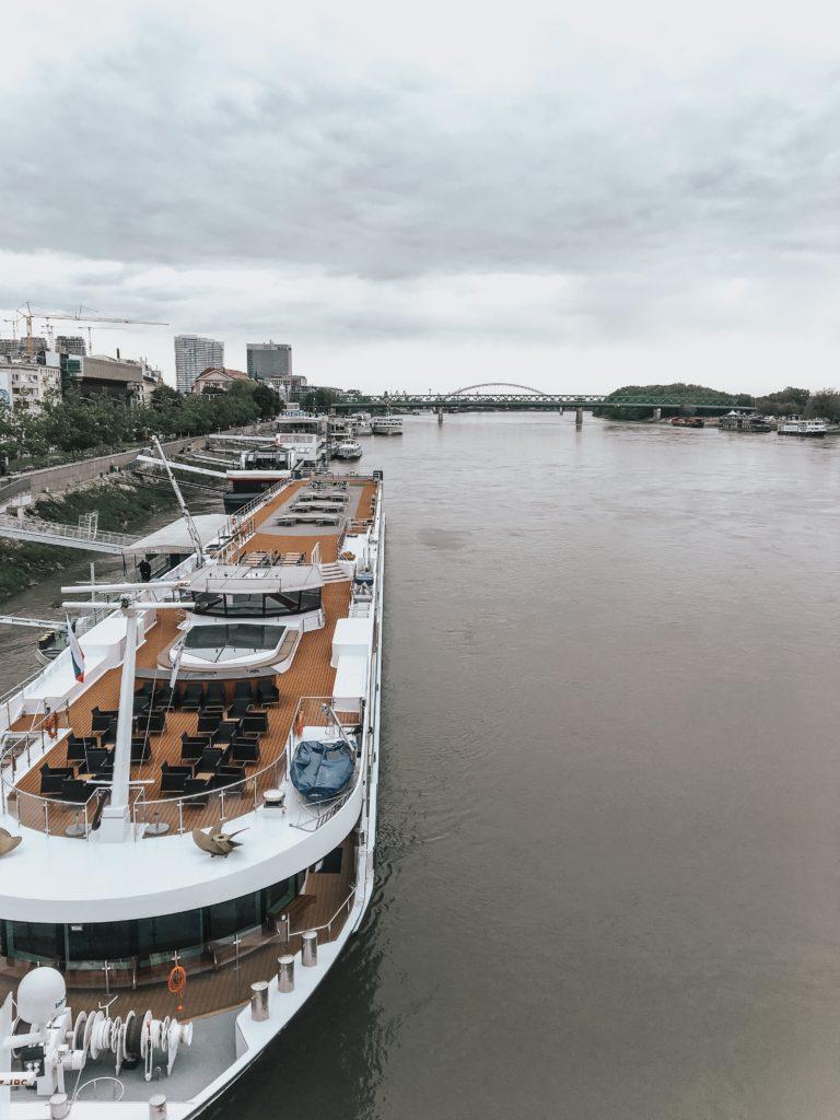 Danube river Bratislava, Slovakia