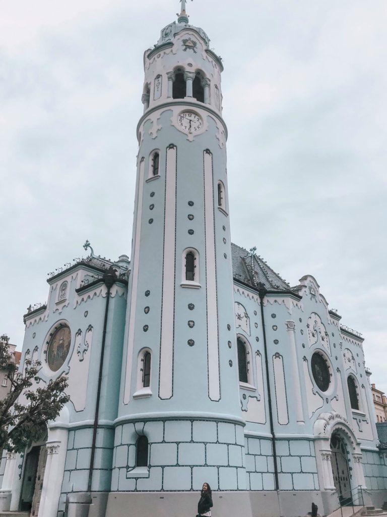Bratislava Blue Church, Bratislava, Slovakia