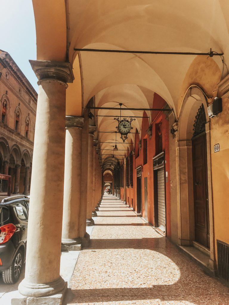 Porticos of Bologna, Italy
