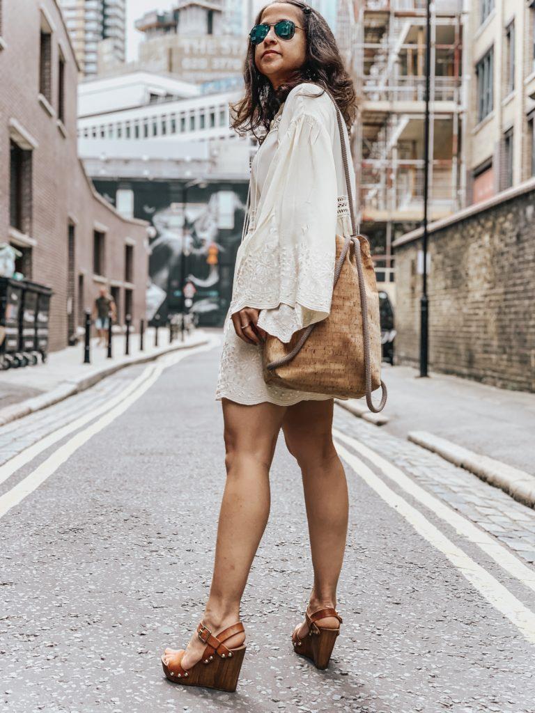 White Babydoll Style Dress Impromptu OOTD + 5 Good Things