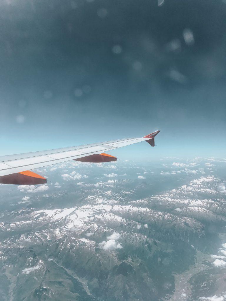Living in London Aeroplane window