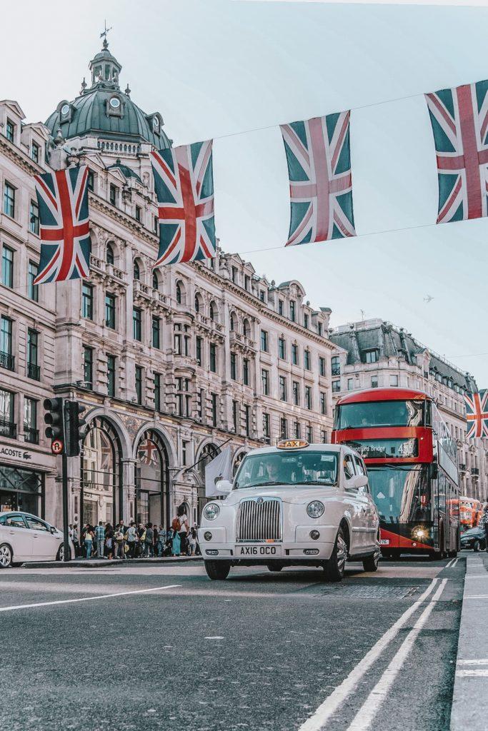 Love living in London Regent's Street