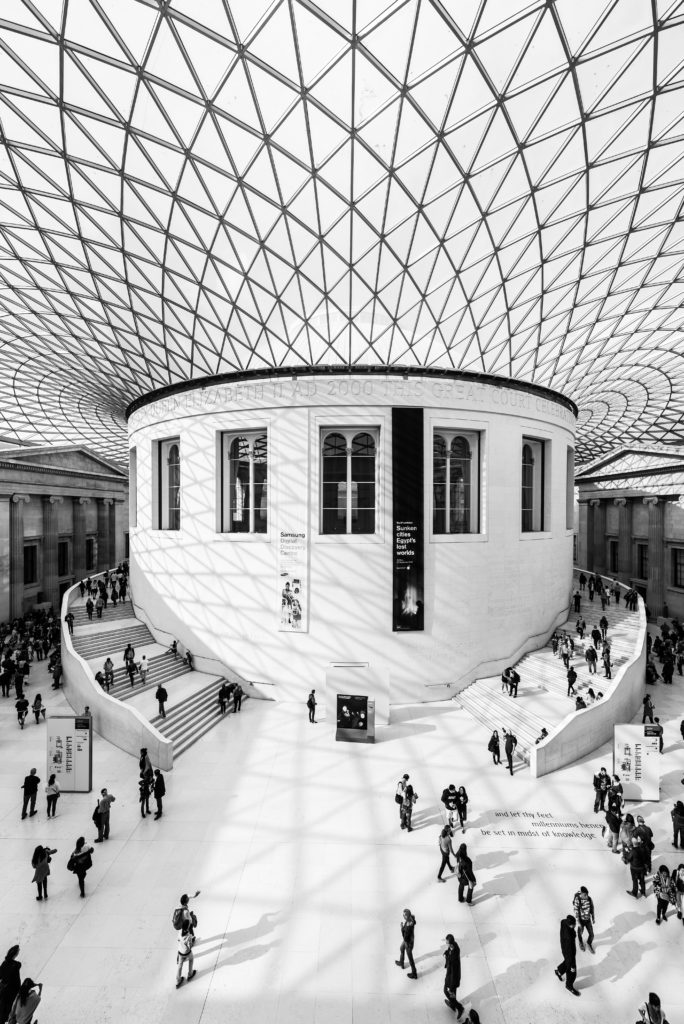 Love living in London British Museum